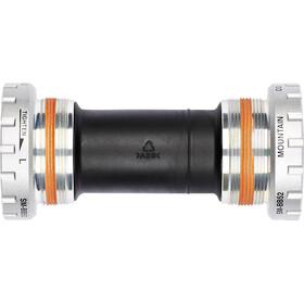 Shimano Deore FC-M591 Guarnitura Trekking Hollowtech II 3x9 grigio/nero